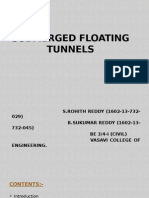 Submerged Floating Tunnel ppt