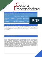 Plan de Actuación Miniempresas CEIP CIUDAD de JEREZ