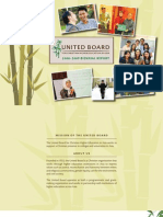 United Board Biennial Report