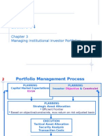 investment policy statement of all institutions
