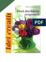 Flori Din Hartie Creponată