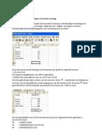 ICT - Workshop Excel 2