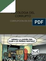 Psicologia Del Corrupto, Corrupción en España