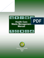 Health Care Waste Management Manual 2014
