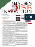 Barkhausen Noise Inspection