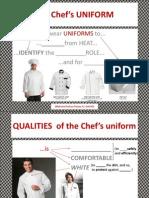 2  the chefs uniform