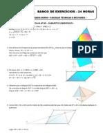 Matemática - Folha 05 GABARITO