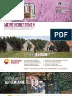 Heidefarmen Rundbrief 2016 - Hotel Katalog für Wellnessurlaub in Deutschland