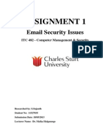 Email Security Issues