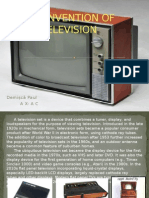 The Invention of Television