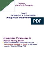 2013-Topic4-InterpretivePolitical