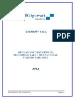 Reglamento Interno de Seguridad y Salud Ocupacional_gigawatt Sac