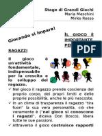 Stage Di Grandi Giochi-2014