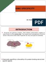 Binding Specificity (PH 01-06)