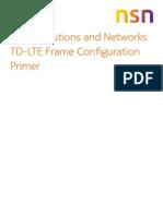 Nsn Td Lte Frame Configuration Wp
