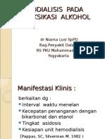 Hemodialisis Dan Intoksikasi Alkohol