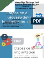 Etapas en El Proceso de Implantación Del CRM