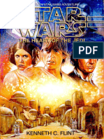 Star Wars the Heart of the Jedi by Kenneth Flint
