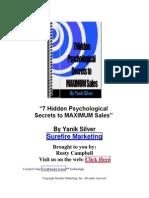 7 Psychological Secrets Report