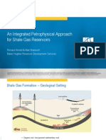 0930 0955 an Integrated Petrophysical Approach for Shale Gas Reservoirs