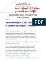 Anti-military Dictatorship in Myanmar 0306