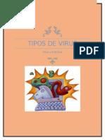 Tipos de Virus y Antivirus