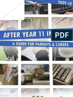 Parents Guide to Year 11 Choices