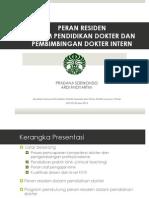 Dr. PRADANA - Resident as Teacher-semiloka Nasional Apr 2013