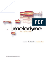 Manuel Melodyne Studio 3.2 French