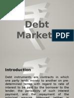 Debt Market.