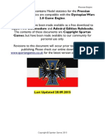 Prussian Empire Full Orbat 28.09.2015