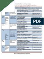 Cronograma de Actividades y Asignaciones MGCE-MIE