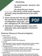 Materi Proposal