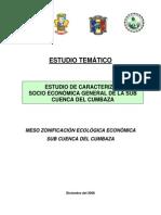 Socioeconomico Cuenca Cumbaza