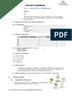 Formato Diagnòstico Ambiental y Plan de Acciòn 2013-2