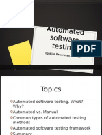 e Babenskas Automated Software Testing