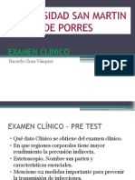 Semiología - Examen Clínico