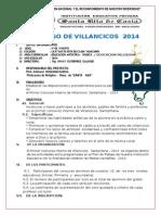 Proyecto de Villancico 2014 - Santa Rita de Casia