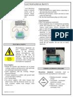 Electrophoresis Safety