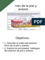 Semiología - Piel