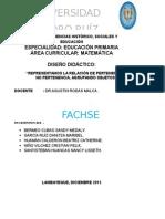Diseño Didáctico Grupal Alumnas Del Vi Ciclo-2015