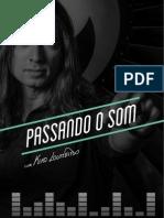 Passando o Som - Kiko Loureiro PDF sobre carreira.