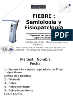 Fisiopatología y Semiología - Fiebre