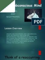 dreams and nightmares  1