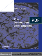 The Detonation Phenomenon - J. Lee (Cambridge, 2008) WW_0521897238