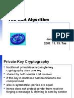 The RSA Algorithmppt.ppt