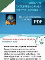 Educatie Antreprenoriala.ppt. protectia Mediului 2