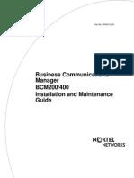 bcm400
