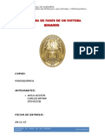 Informe N°3 Sistema Binario-FISICOQUIMICA