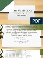 Tema Matematica